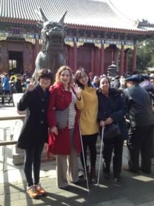 Group photo in Summer Palace
