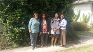 Haben, Aster, and members of the Federation of Ethiopian National Associations of Persons with Disabilities.