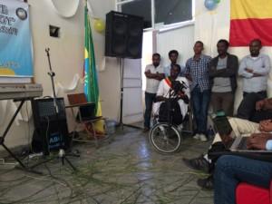 Audience at Mekele university event.