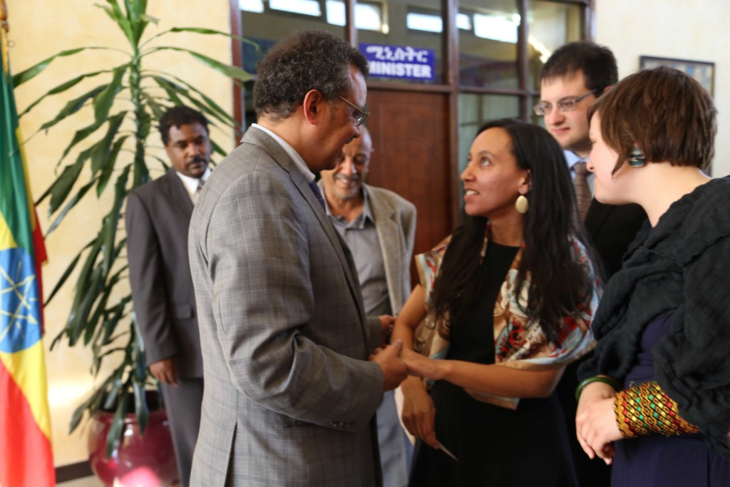 Haben meeting with Tedros Adhanom