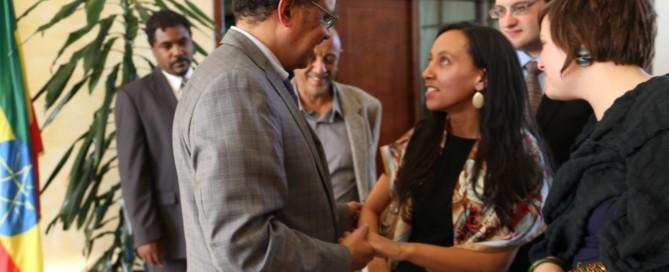 Haben meeting with Tedros Adhanom