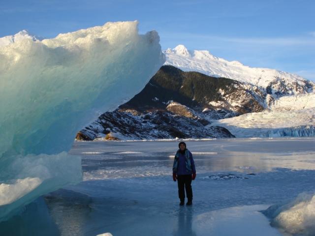 Haben by Iceberg in Juneau, Alaska