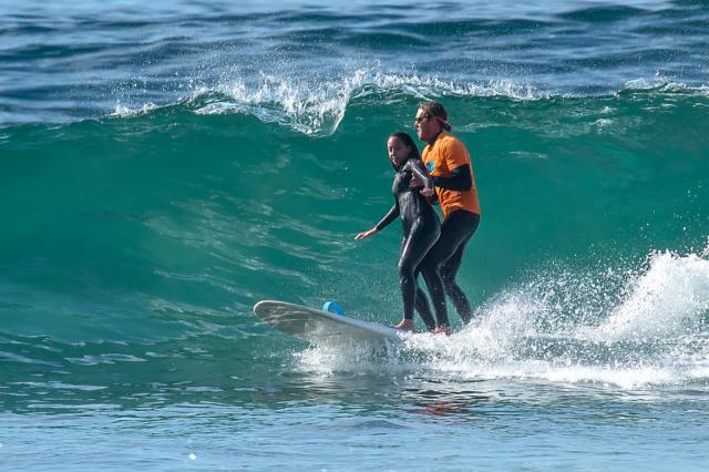 Haben surfing in San Diego
