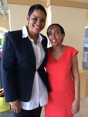 Ms. Stephanie Barnes and Haben