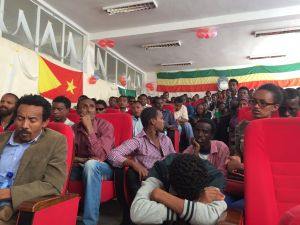 Audience at Mekele University event.