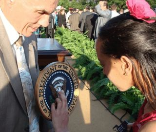Haben feels the Presidential seal